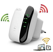 300Mbps 2.4GHz WiFi Repeater Wireless Router Signal Booster Extender Amplifier US/EU/UK/AU Plug