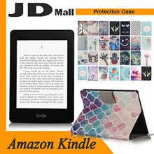 [JD Mall]★★Case Casing Cover for Kindle Tablets Paperwhite fire HDX Latest Arrival Cartoon Flip Leather Case For Amazon Kindle Series Cute Leather Pouch / High Quality Anti Shock Casing