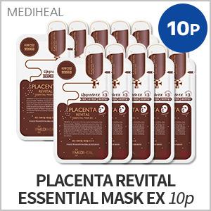 4# PLACENTA REVITAL ESSENTIAL MASK EX 10P