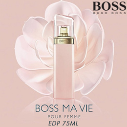 BRAND NEW PERFUME Boss Ma Vie Pour Femme Hugo Boss 75ml FRAGRANCE TESTER PACKAGING