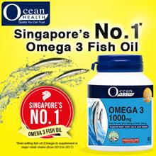 Omega 3 Fish Oil 1000mg (60/180 Softgels)