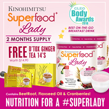 2MTH SUPPLY 💫SUPERFOOD+ LADY 500gx2 tins💫 [High Calcium Iron FolicAcid Meal Replacement]