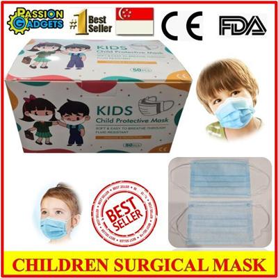 Children Surgical Mask (50pcs) FDA CE Certified