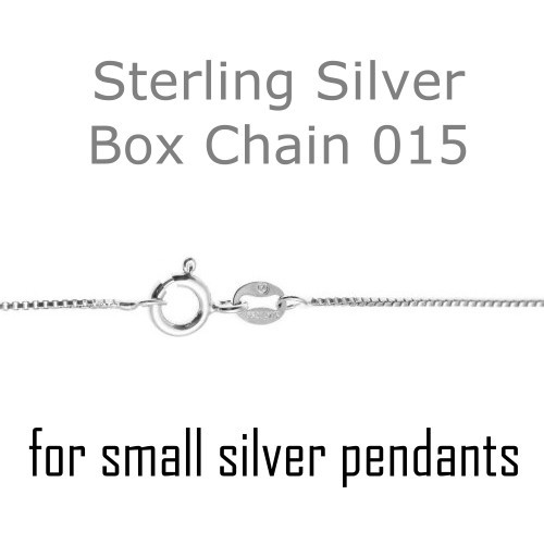 Snake or Ball Chain Necklace Sterling Silver Small Polished Number 40 on a Sterling Silver Cable