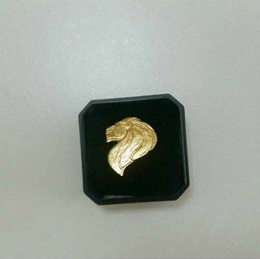 Merlion Collar pin