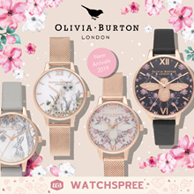 *VDAY SPECIAL* [APPLY 25% OFF COUPON] OLIVIA BURTON Ladies Watches. New Arrivals 2019. Free Shipping