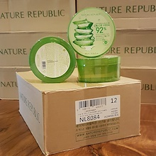 FREE SHIPPING!  6 12 or 24 jars of Nature Republic Soothing and Moisture Aloe Vera 92% Soothing Gel