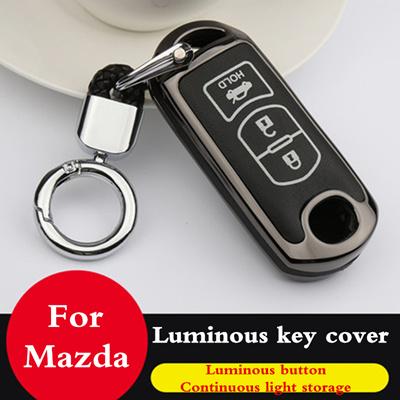 Car key fob cover case protect for Mazda 2 mazda 3 mazda 5 mazda 6 CX