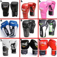 Everlast BOXING GlOVES*Boxing Gloves MUAY THAI Glove MMAGYM GLOVES LOCAL SELLER ! FREE NET bag