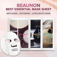 [BEAUNON] BEST FACE MASK SHEET Rice Water / Makgeolli (Korea Rice Wine) / Quinoa