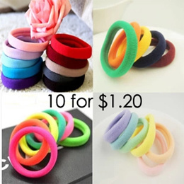 Offer【10 for $1.20】Women elastic hair band/hair accessory