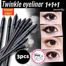 【Secret Key HQ Direct Operation】★1+1+1★Twinkle Gel Pencil Liner_11 Kinds!! Waterproof eyeliner