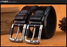【Leather Material】Cow Leather Men Fashion Belt in Black/Brown