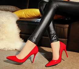 ◆ More choices - More Trendy ◆ European style multi color high-heeled shoes