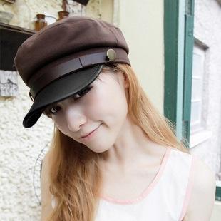 2882916035b wholesale 2018 New Fashion Sailor Ship Boat Captain Military Hats Peaked  Cap Black Baseball Caps Fla