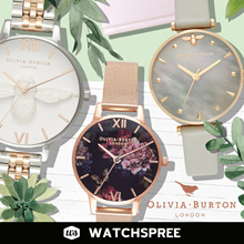 *APPLY 25% OFF COUPON* OLIVIA BURTON Ladies Watches. New Arrivals. Free Shipping and 1 Yr Warranty!