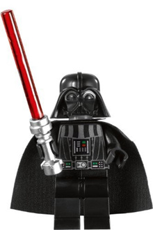LEGO 수입 레고 스타워즈 Lego Star Wars Darth Vader Minifigure with Lightsaber (Imperial Inspection version)