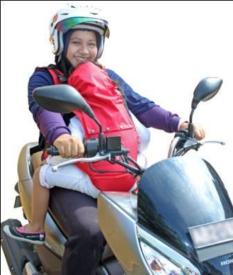 ZATRA Sabuk Bonceng Motor Anak TRENDY
