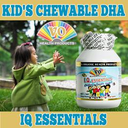 ★VITA ORGANIC KIDS CHEWABLE DHA★  ESSENTIAL FOR IQ DEVELOPMENT ☆☆ ORANGE FLAVOURED BURSTLETS