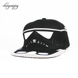 Star Wars fashion brand snapback cap Cool letter Strapback BBOY baseball cap  hip-hop hat 96b22d5d0313