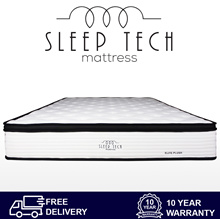 Elite Plush Pocketed Coil Mattress by Sleep Tech™ Single Size | Super Single Size | Queen | King