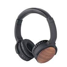 Wooden HIFI Bluetooth Headphone for iPhone  Xiaomi Huawei Subwoofer Headset Wireless Sports