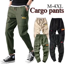 【BUY 2 FREE SHIPPING】 jogger ★Cotton men pants★ Haroun ★ Cargo ★ Track pants★sports/ long