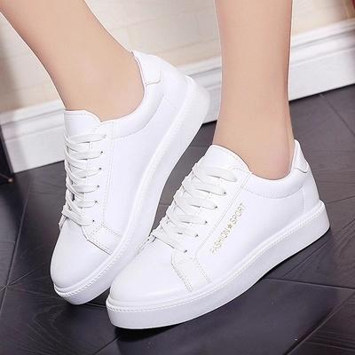 Summer Korean white shoes female soft