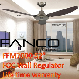 Fanco ceiling fan/ FFM7000/ Black fan/ White Fan