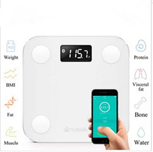 SG Original YUNMAI MINI Smart Weighing Scale Support Android 4.3 iOS7.0 Bluetooth4.0 Losing Weight D