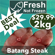 【Fresh Seafood】【Direct from Fishery Port】【Threadfin/Batang/Chinese/White Pomfret/Flower/Red Grouper】