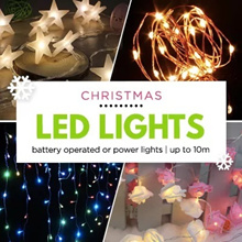 ★★[Local Seller/10% Store Wide]Free Fairy Light over $10.00/100 over Models of Christmas Fairy Light