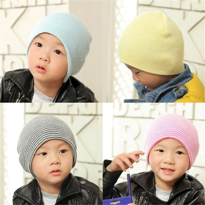 fe7582d43 New Fashion Winter Warm Baby Hats Caps Beanie Boy Kids Girls Boys Soft Hat  Children Winter Warm Kids