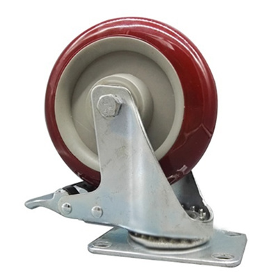 Qoo10 - 60mm Twin Wheel Swivel Casters w 38 x 1 Grip Ring Stem and Brake  Search Results : (Q·Ranking): Items now on sale at qoo10.sg