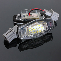 18 LED License Number Plate Lights Lamp for Honda Accord For Odyssey For Acura For TSX For Civic