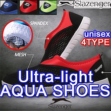 [SLAZENGER] ◆New Update◆Only Today Deal◆ 2018 S/S Ultra-light  Aqua Shoes Unisex Sports / running sh
