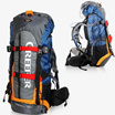 Waterproof 60L Outdoor Sports Backpack Camping Travel Hiking Bag Internal Frame Backpack With Rain