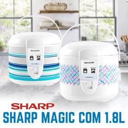 Magic Com SHARP 18ME-L Capacity 1.8L New Desain Free Ongkir Jakarta!!!