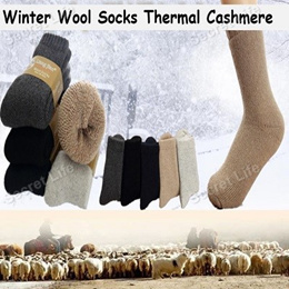 Winter Wool Socks Thermal Cashmere