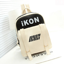 IKON wind with the casual Korean version of double shoulder bag college student couples female PSB04