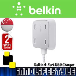 Belkin Family RockStar 4-Port USB Charger... 2 Years Warranty...