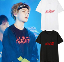 Bulletproof Boy's Clothing BTS Clothes Short-sleeved T-shirt South Korea Outerwear BTS Collectibles T-shirts Hallyu Collectibles Costumes Apparel Clothing Pealuk Supports kpop Costume Korea Fashio