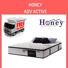 Medellin® HONEY 10 Inch Adv Active 5 Zone Pocketed Spring (All Sizes)
