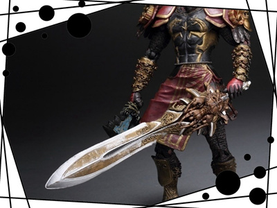 18cm God of War 2 II Weapons Sword Kratos in Ares Armor Action Figures PVC  brinquedos Collection Fig