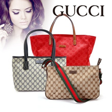 【Industry's lowest price class / free shipping】 【GUCCI / Gucci】 All 8 kinds Qoo10 Challenging the lowest price! Wholesale direct price tag tote bag featuring free shipping free genuine