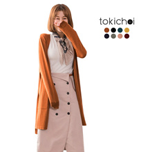 TOKICHOI - Longline Cardigan-172266-Winter