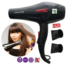 Best Hair Dryer for Professional HairScape 5000 (Aus) 1800W / Strong Blowing / Salon Hair