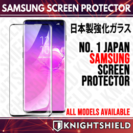 ★KnightShield★All Samsung Models Screen Protector Tempered Glass S20 Ultra/ Note 10 Plus/ Note 9★