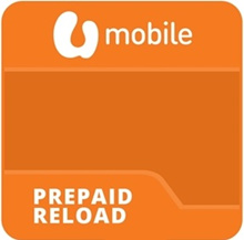 UMobile Prepaid Reload Top Up RM50 [U Mobile]