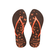Havaianas Allegra Print 0727 (Dark Brown) [Women]